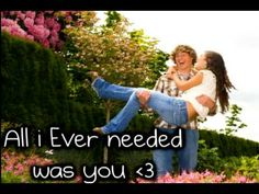 Bret Michaels And Jessica Andrews - All I Ever Needed - Lyrics.-----perfect wedding song