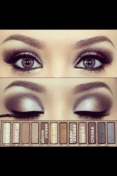 Makeup look with the first Naked palette?