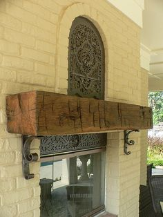 10 Vigorous Simple Ideas: Fireplace And Tv Wire fireplace built ins vintage.Fireplace Built Ins Vintage. Farmhouse Fireplace Tools, Rustic Fireplace Mantels, Fireplace Garden, Small Fireplace, Concrete Fireplace, Fireplace Remodel, Modern Fireplace, Fireplace Mantle, Fireplace Surrounds