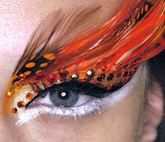 """FLIGHT OF FANCY"" DIOR COUTURE SPRING 2008 - MAKEUP: Pat McGrath"