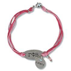 Gamma Phi Beta Sorority Sisters Bracelet