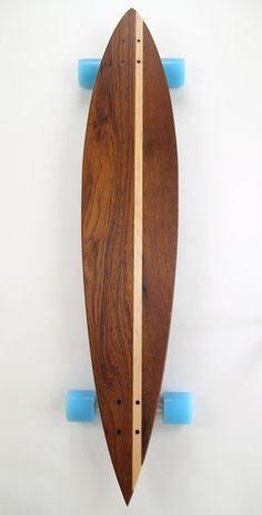 Longboard skateboards handcrafted from repurposed furniture Longboard Design, Skateboard Design, Skateboard Decks, Surfboard Skateboard, E Skate, Skate Decks, Long Skateboards, Longboarding, Surfboards
