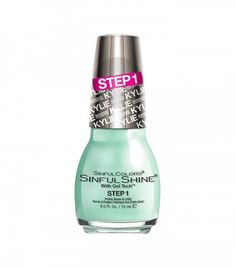 sinful colors kylie jenner nail polish sinful shine in minty fresh - Vernis Sinful Colors