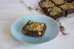 Sugar-free Ferrero Rocher Slice - I Quit Sugar I pinned these as they look ridiculously good and the thing I like about this recipe is it looks super easy