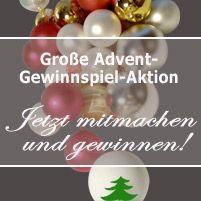 Weihnachten kann kommen! Freut Euch mit mir auf eine friedliche und erholsame Zeit und lasst Euch vom Zauber der Weihnacht erfüllen!