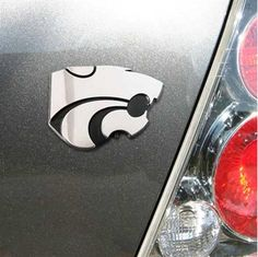 Kansas State Wildcats Chrome Auto Emblem: $17.95
