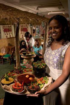 Empress Taytu, Ethiopian Resto in Cleveland!