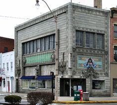 Louis Sullivan newark ohio | Louis Sullivan Banks Building, Old Building, Art Nouveau Architecture, Architecture Design, Newark Ohio, Louis Sullivan, The Buckeye State, Local Activities, Chicago Style