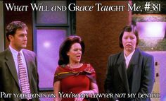 What Will and Grace Taught Me Karen Walker Quotes, Grace Adler, Funny Shit, Funny Stuff, Funny One Liners, My Dentist, 2 Broke Girls, Will And Grace, Great Tv Shows