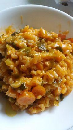 Le riz aux poireaux (pirasa) est un plat très simple à base de riz et de légumes, idéal pour accompagner vos viandes et poissons.