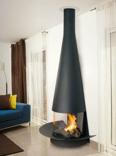 Wall Mounted Fireplaces - CFD sells numerous styles and designs of the modern and contemporary fireplace creations.