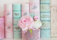 pastel book spine - Google Search