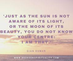 #Quote #GianKumar www.booksonspirituality.com