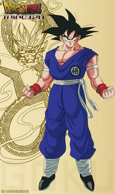 Goku from Dragon Ball Z Dragon Ball Z, Akira, Manga Anime, Anime Art, Manga Dragon, Fan Art, Manga Comics, Anime Shows, Digimon
