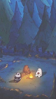 We bare bears Cartoon Wallpaper Iphone, Mood Wallpaper, Bear Wallpaper, Cute Disney Wallpaper, Scenery Wallpaper, Aesthetic Pastel Wallpaper, Kawaii Wallpaper, Cute Wallpaper Backgrounds, Cute Cartoon Wallpapers