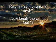 CELTIC LOVE SONG   (Welsh song)