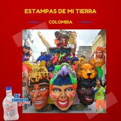 Nuestra Tierra! #Colombia #Carnaval