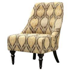 Amelia Tufted Slipper Chair