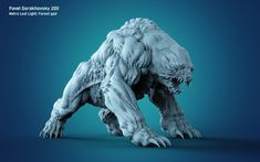 Metro Last Light Character by Pavel Dorokhovsky - Game Art Hub Creature 3d, Creature Concept Art, Creature Feature, Creature Design, Alien Creatures, Fantasy Creatures, Mythical Creatures, Monster Design, Monster Art