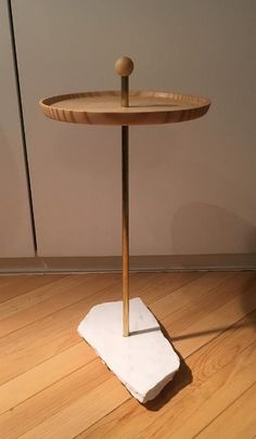 """""""aperitivo"""" table marble wood and brass by coizacomze.com"""