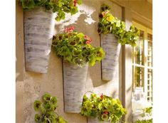 Pottery Barn Wall-Mount Galvanized Metal Planter $19.99 at Pottery Barn