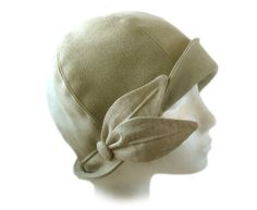 SEWING PATTERN Grace 1920s Cloche Hat for door ElsewhenMillinery