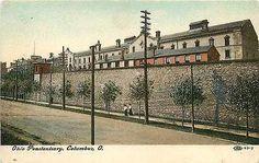 Columbus Ohio OH 1908 Ohio Penitentiary Collectible Antique Vintage Postcard - Moodys Vintage Postcards - 1