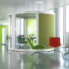 cool meeting pods in buildings - Google Search