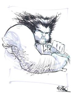 16 _ Logan Wolverine - by Skottie Young Comic Art