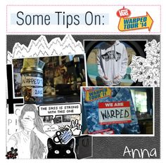 """Some Tips On Warped Tour! {by anna}"" by xx-my-chemical-killjoy-xx ❤ liked on Polyvore featuring art"