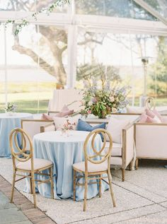 This whimsical garden wedding planned by Samantha Anderson Events will instantly brighten your day! From a darling color scheme of periwinkle, lavender, natural greens, and warm autumnal accents to t. Garden Wedding, Dream Wedding, Event Planning, Wedding Planning, Linen Rentals, The Perfect Touch, Southern Belle, Brighten Your Day, Periwinkle