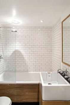 """""""View this Great Contemporary Full Bathroom with slate tile floors & frameless showerdoor by Julie Wyss. Discover & browse thousands of other home design ideas on Zillow Digs."""""""