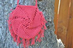 Red purse/pouch by ScissorSisters08 on Etsy, $15.00