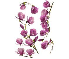 Vinilo floral MAGNOLIA - Leroy Merlin