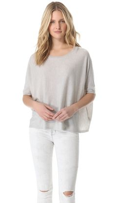 J Brand Ready-to-Wear Ingrid Cashmere Pullover - Love this sweater, please go on super sale!