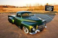 TONS of Kustom Body Tricks Chopped 3 Inches Channeled 10 Inches 1949 Mercury Dash 1957 Buick Bumper 1955 Caddy Front Bumper 1970 Tornado Hood for Bed Cover Ext Hot Rod Trucks, Cool Trucks, Cool Cars, Custom Pickup Trucks, Ford Pickup Trucks, My Dream Car, Dream Cars, Classic Trucks, Classic Cars
