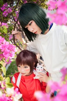Spirited Away \ Chihiro : MonicaWos Haku : Photo : Dante Alway with me - Spirited Away Chihiro Cosplay, Anime Cosplay, Costume Dress, Cosplay Costumes, Spirited Away Cosplay, Art Thou, Manga Characters, My Spirit, Miyazaki