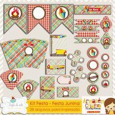 Kit Festa Festa Junina por Grazi Machado