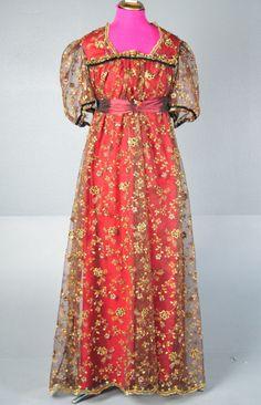 Regency style dress plus size