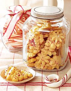 Spritz Cookies  As easy to make as they are delicious, you'll find these cookies ideal as party fare, gifts, and simple desserts.    Recipe: Spritz Cookies