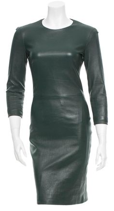 "The Row Leather Dress. The The Row Leather Dress was voted a ""Top 10 Favorite"" by Tradesy Members. Get it now and save 56%"