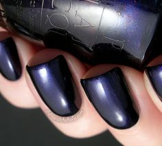 OPI Russian Navy... I almost chose this color last time... Definitely next time :)
