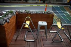 Spring Street Parklets Downtown LA-1 To understand a city's character, look no further than its parklets (which, as you know by now, are those mini–urban parks that replace parking spots with public amenities).