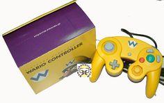 Gamecube controller Wario edition