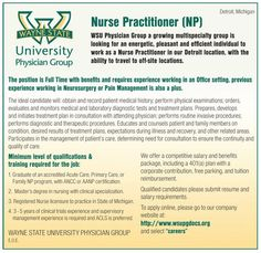 Nurse Practitioner wanted in Detroit Michigan | NEWS-Line for Healthcare Professionals