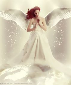 Angel of Mother Earth by VladNoxArt on DeviantArt Angel Images, Angel Pictures, Angels Among Us, Angels And Demons, Angel Artwork, Angel Guide, I Believe In Angels, My Guardian Angel, Angel Cards