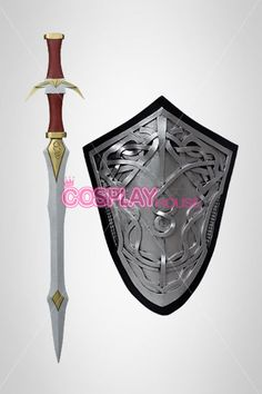 Marvel Comics Cosplay Prop -- Thor - Lady Sif Sword and Shield Version 01 #sword&shield #thor #ladysif