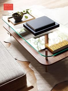 Unison Rectangular Coffee Table   Designed by Terence Woodgate   Design Within Reach