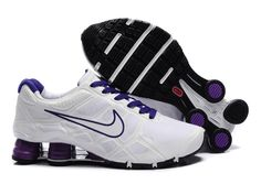 finest selection 474c7 c86ac Nike Shox 2012 Turbo 12 Women White-Purple Nike Shox Turbo 12 running shoe  utilize