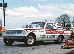 Ramchargers Dodge altered wheelbase A/FX Funny Car Nhra Racing, Auto Racing, Vintage Race Car, Drag Cars, Vintage Humor, Car Humor, Race Day, My Dream Car, Funny Cars